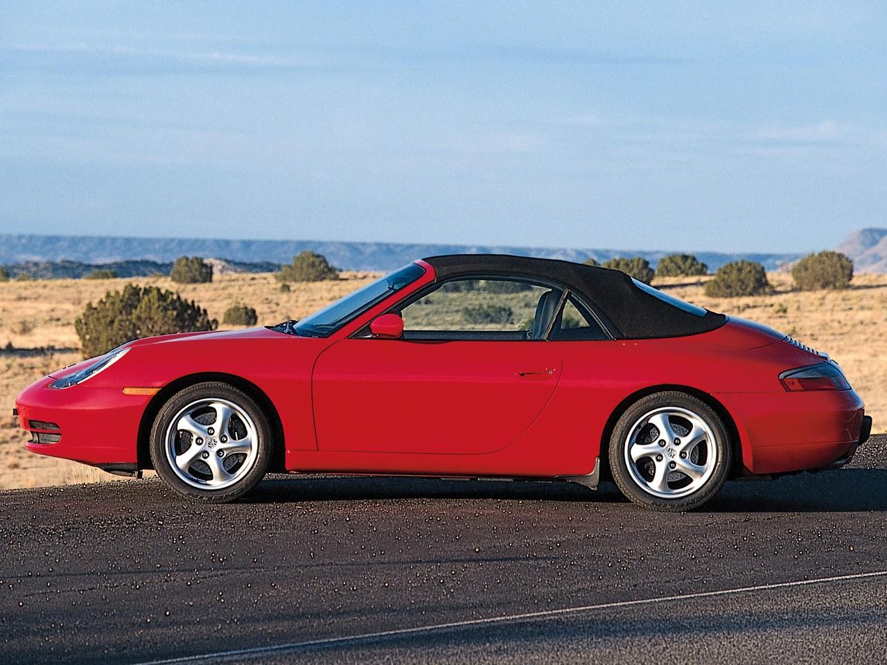 PORSCHE 911 Carrera Cabriolet (996) specs & photos - 1998 ...