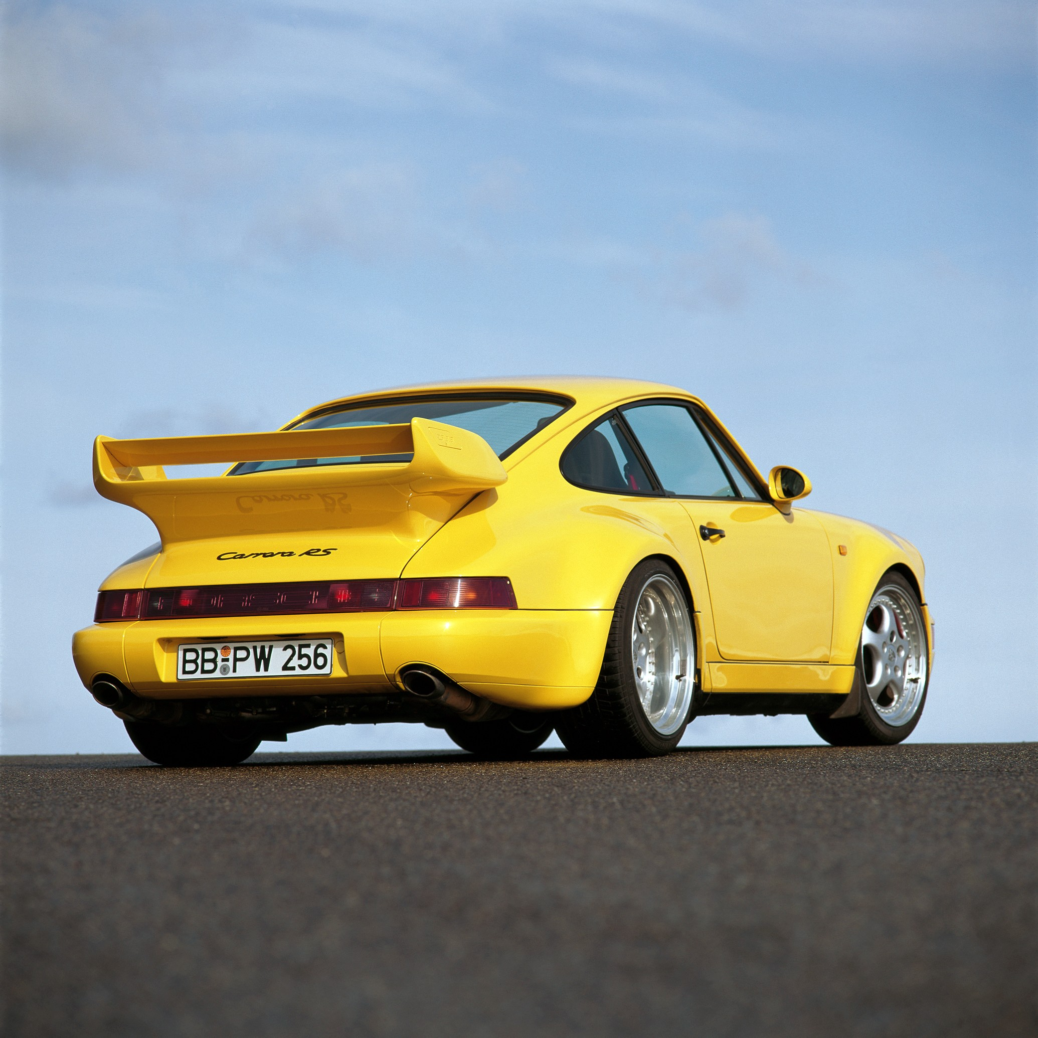 Porsche 911 V6 Horsepower: PORSCHE 911 Carrera RS (964) Specs & Photos