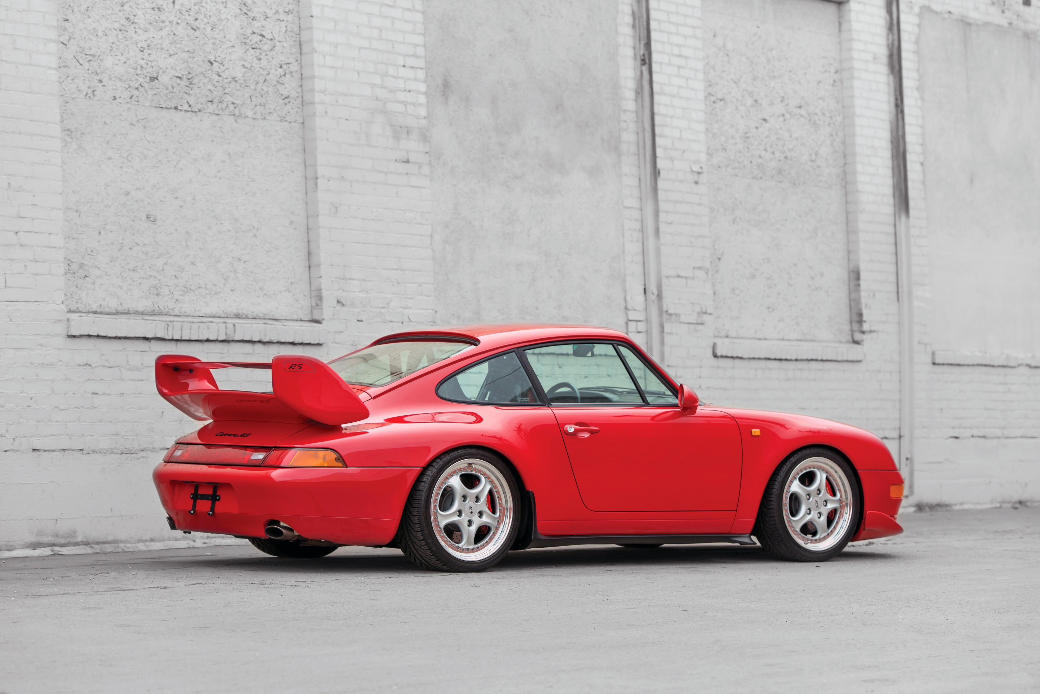 porsche 911 carrera rs 993 1995 1996 autoevolution. Black Bedroom Furniture Sets. Home Design Ideas
