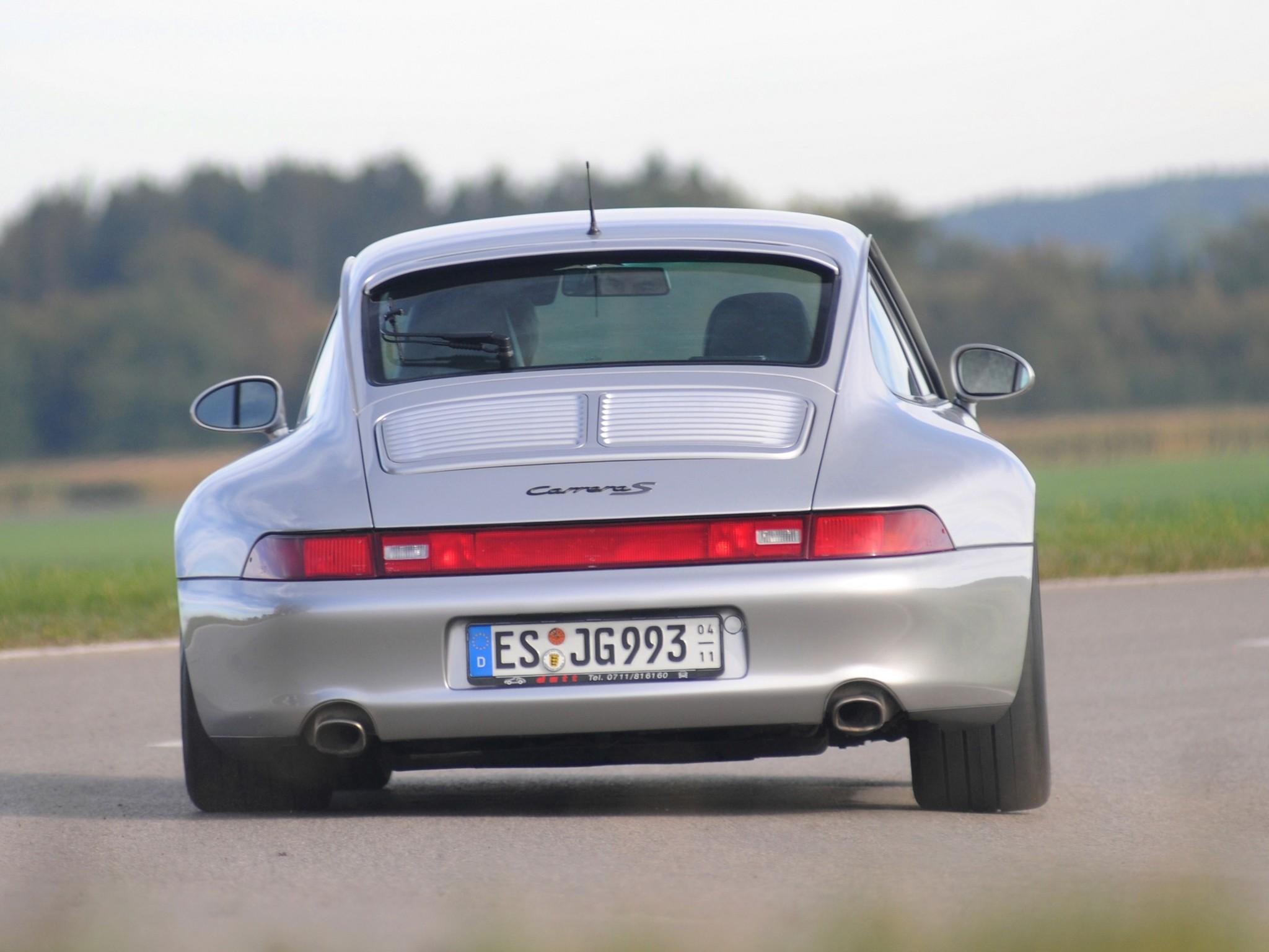 Porsche 911 Carrera S 993 Specs Amp Photos 1995 1996