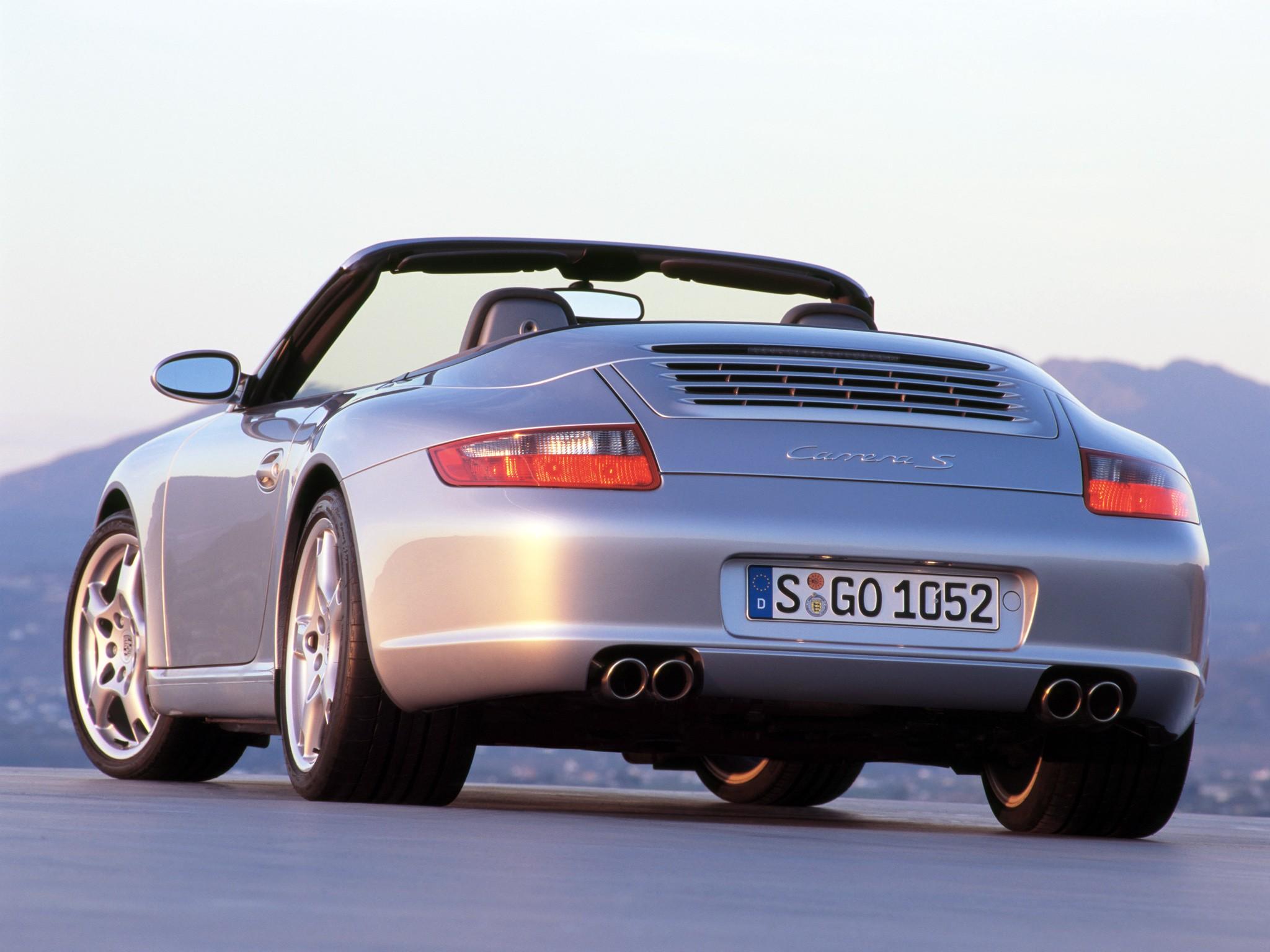 porsche 911 carrera s cabriolet 997 2005 2008