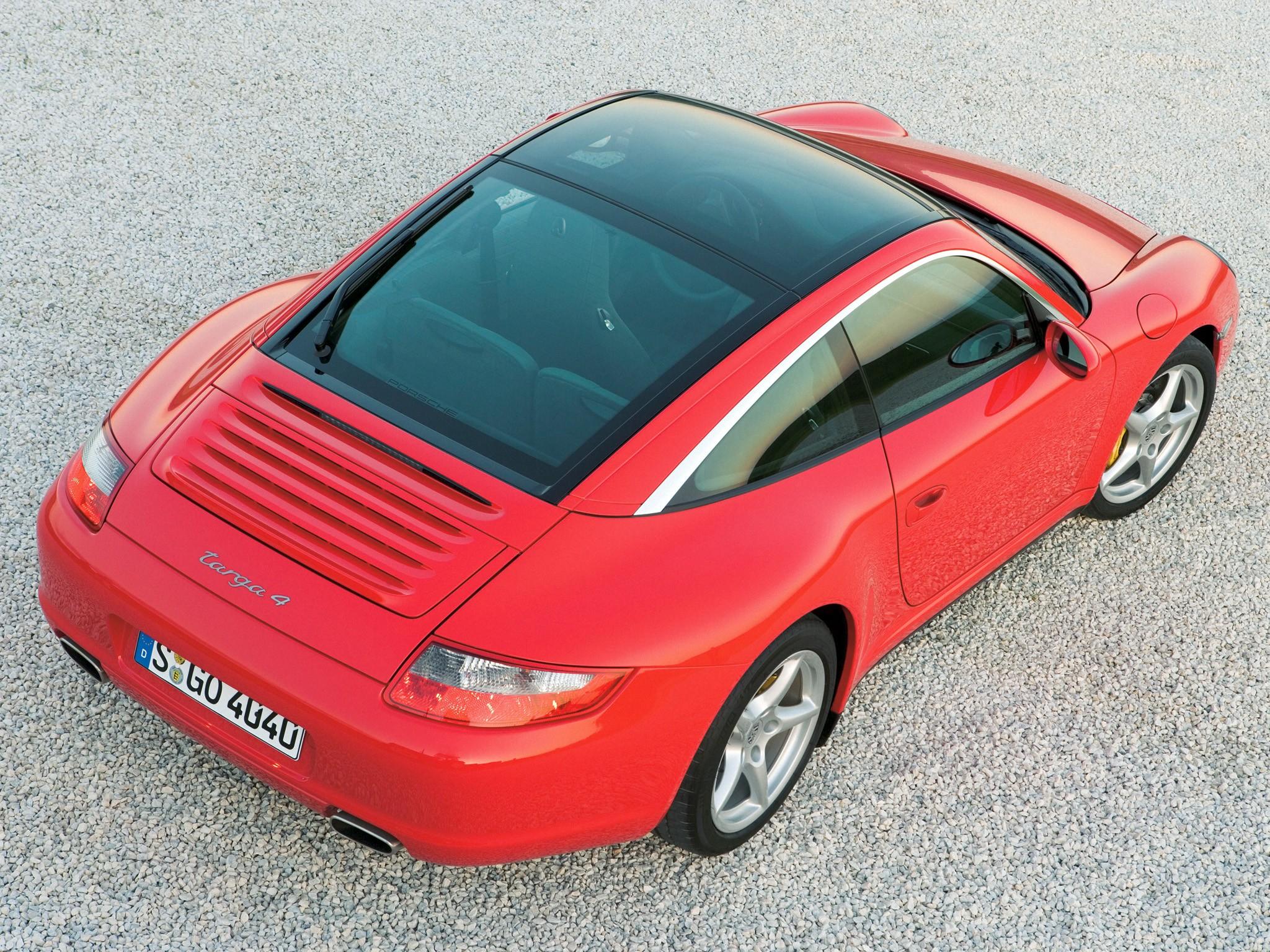 porsche 911 carrera targa 4 997 specs 2006 2007 2008. Black Bedroom Furniture Sets. Home Design Ideas