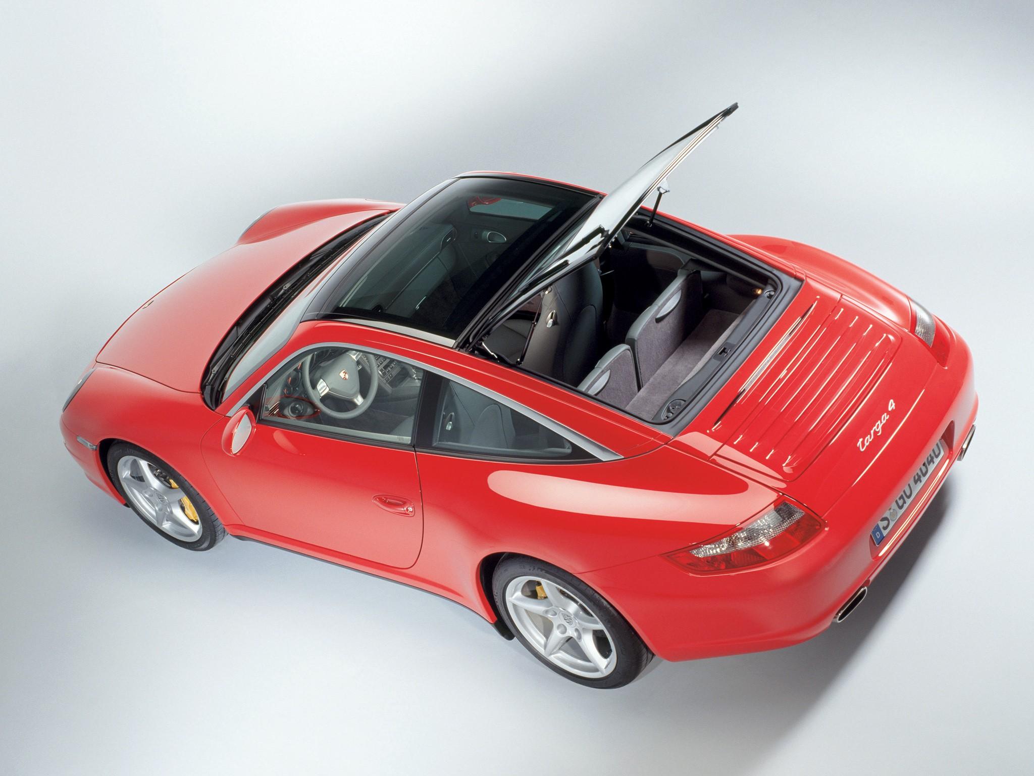 Porsche 911 Carrera Targa 4 997 Specs Amp Photos 2006