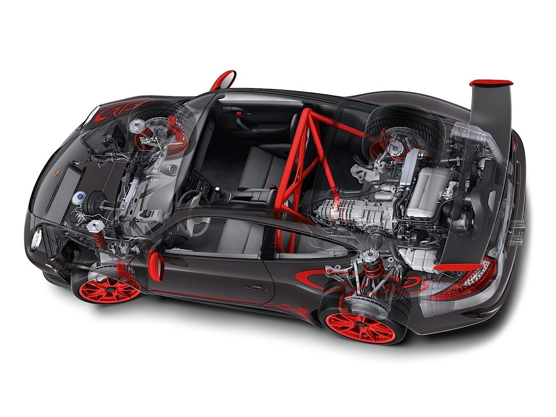 Porsche 911 gt3 weight