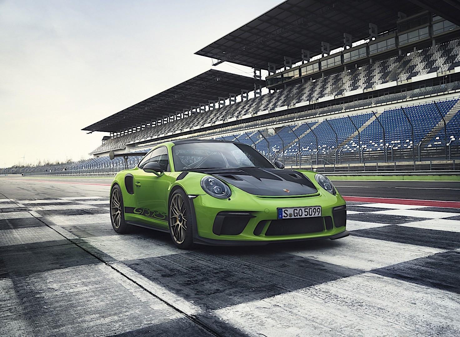 PORSCHE 911 GT3 RS specs & photos - 2018, 2019, 2020 ...