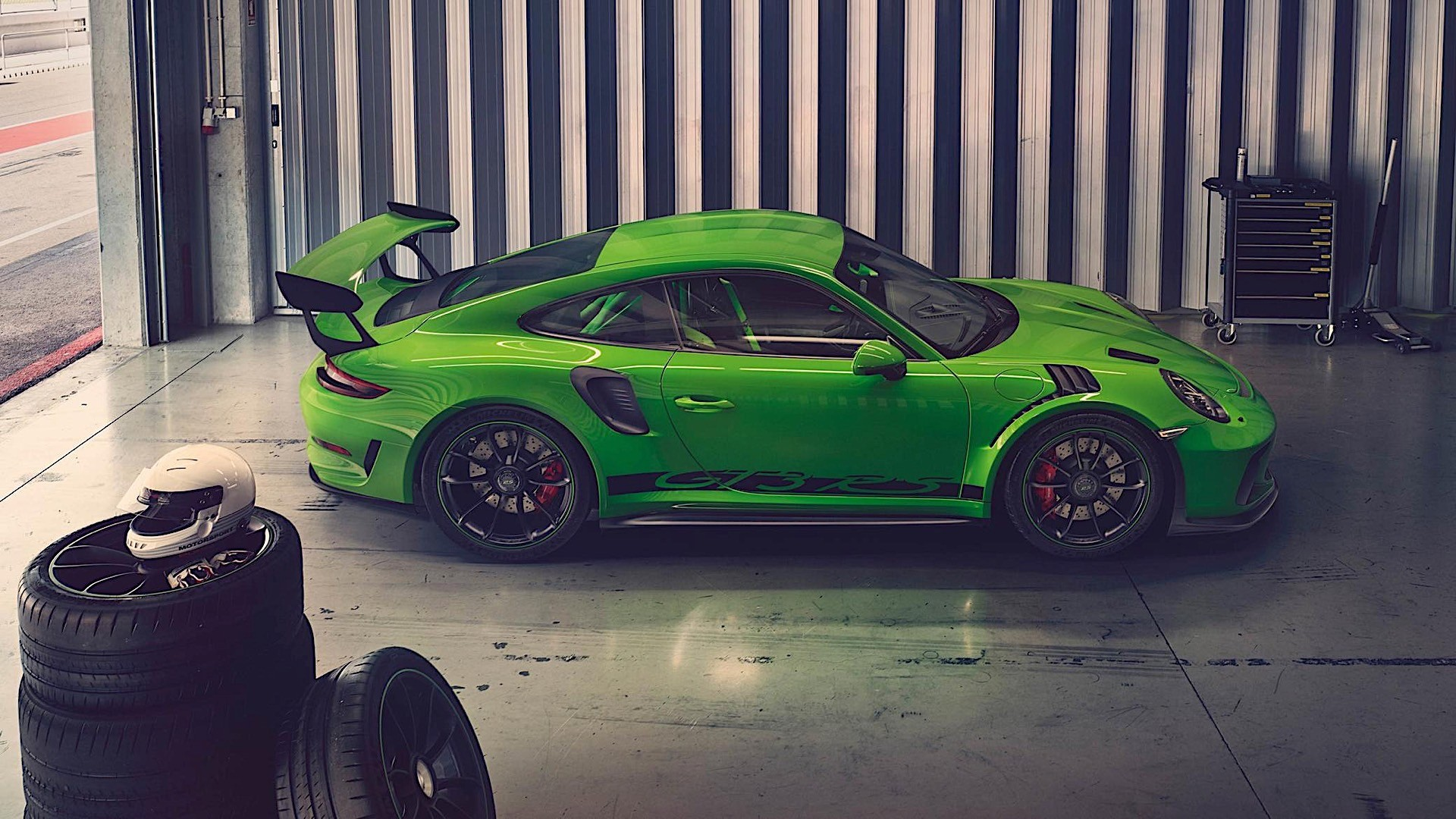 2019 Porsche 911 Turbo S >> PORSCHE 911 GT3 RS specs & photos - 2018 - autoevolution