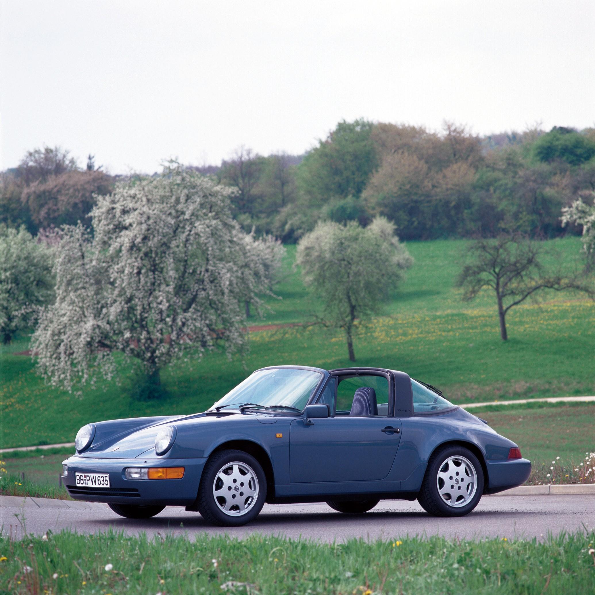 Porsche 911 Targa: 1989, 1990, 1991, 1992, 1993