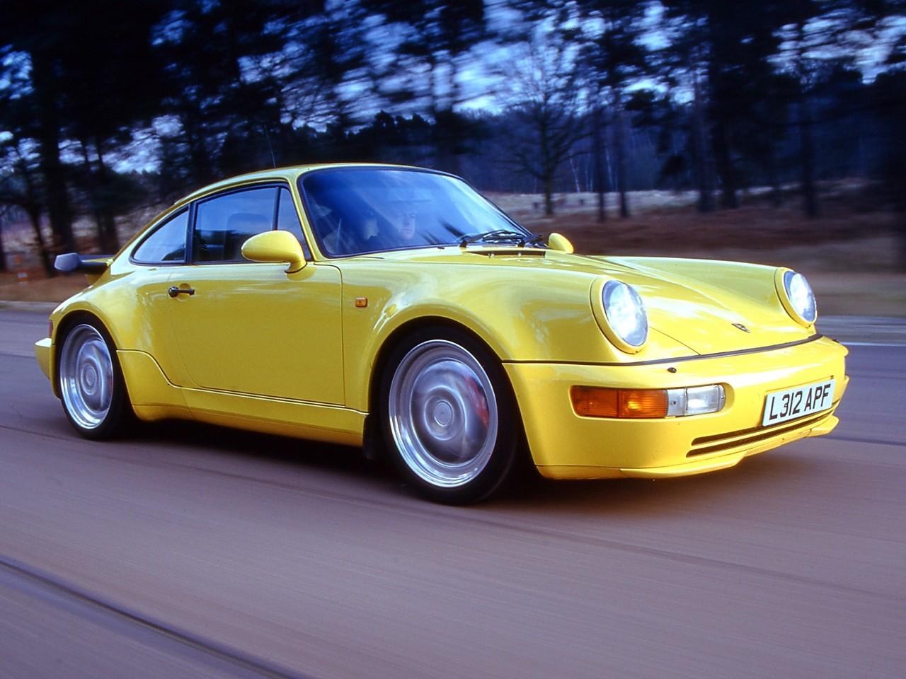 Porsche 911 Turbo 964 Specs Amp Photos 1990 1991 1992
