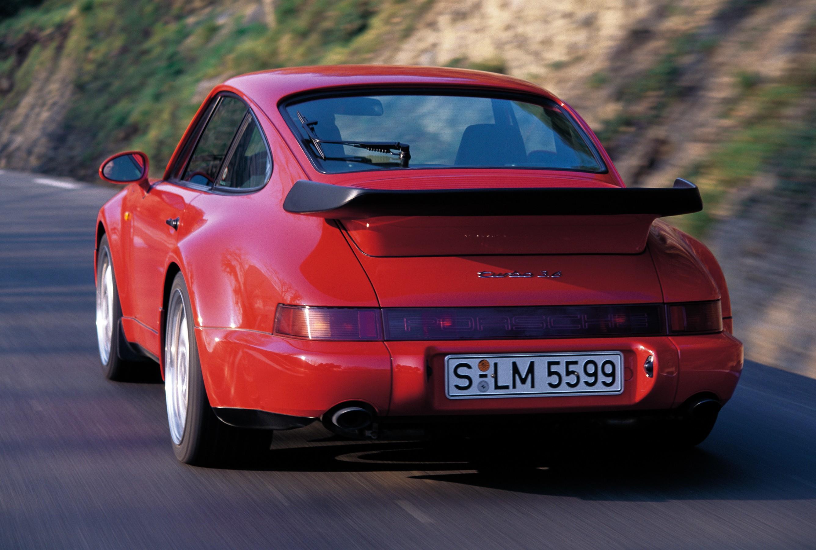 Porsche 911 Models >> PORSCHE 911 Turbo (964) specs & photos - 1990, 1991, 1992, 1993, 1994, 1995 - autoevolution