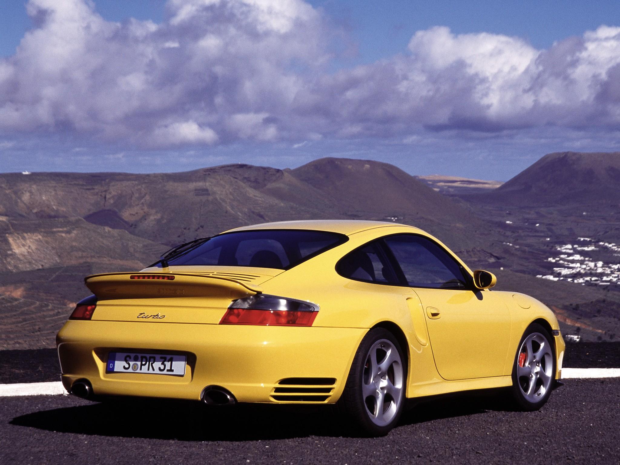 PORSCHE 911 Turbo 996 2000 2001 2002 2003 2004
