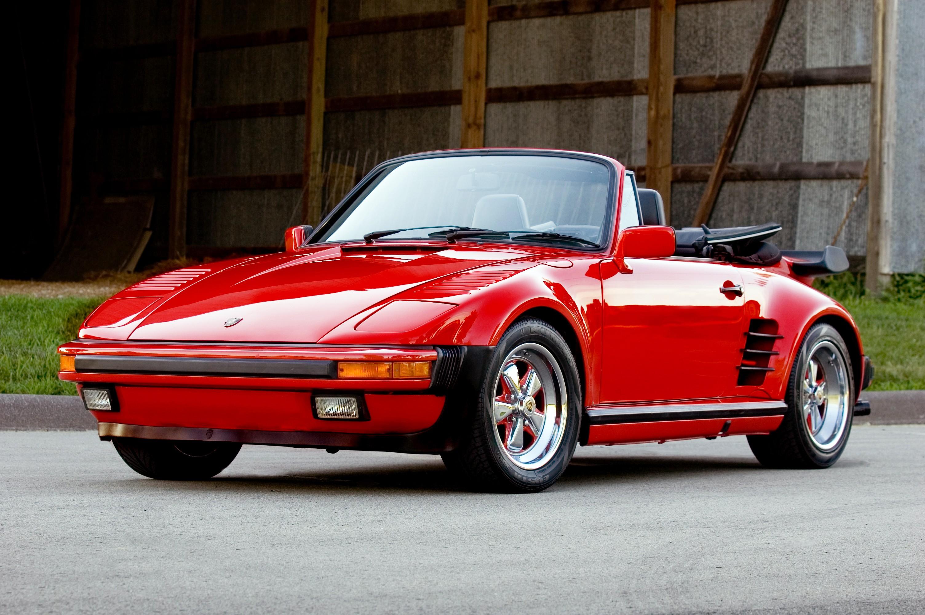 """1989 Porsche 911 >> PORSCHE 911 Turbo Cabriolet """"Flachtbau"""" (930) specs ..."""