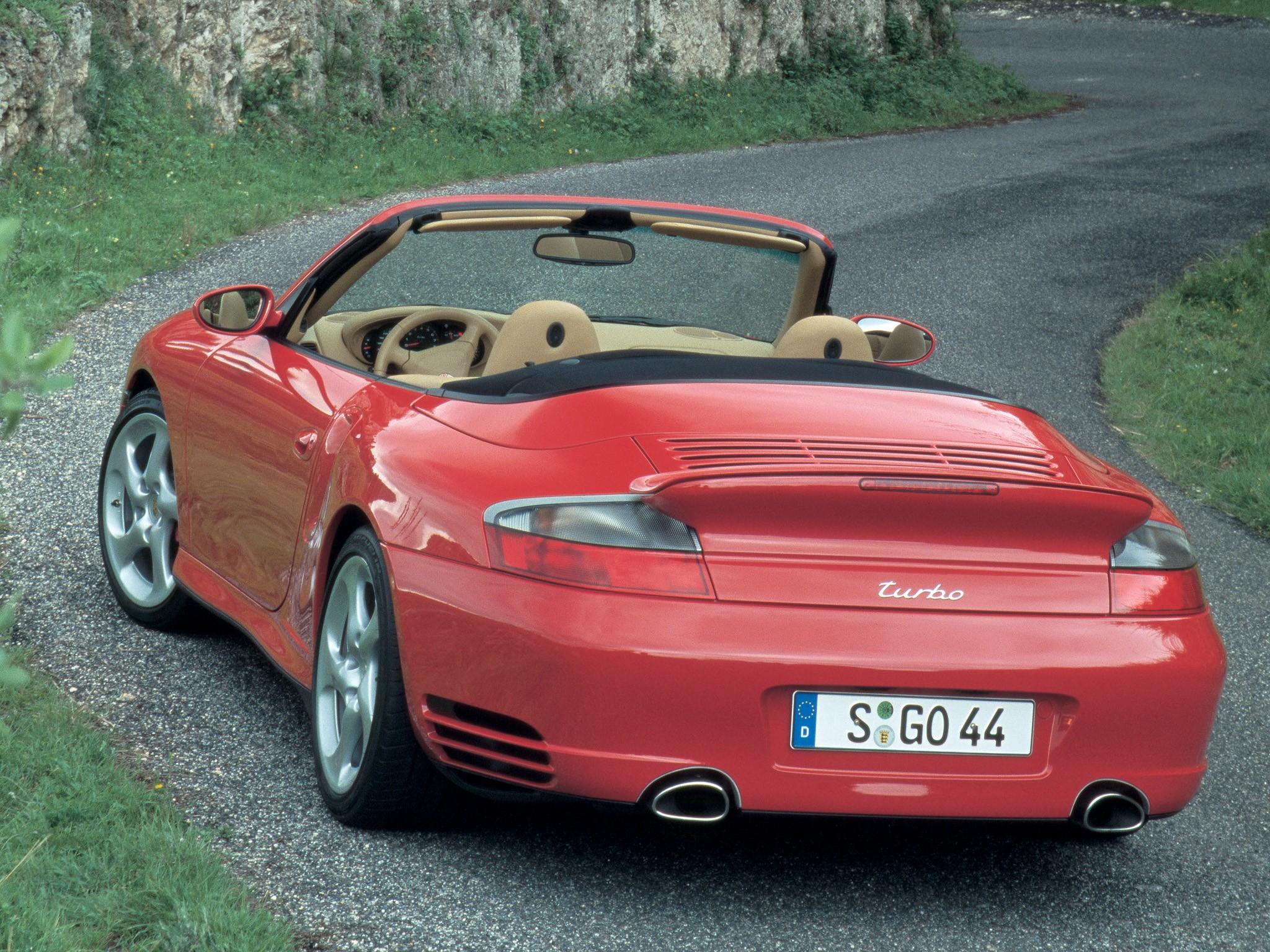 porsche 911 turbo cabriolet 996 specs photos 2004. Black Bedroom Furniture Sets. Home Design Ideas