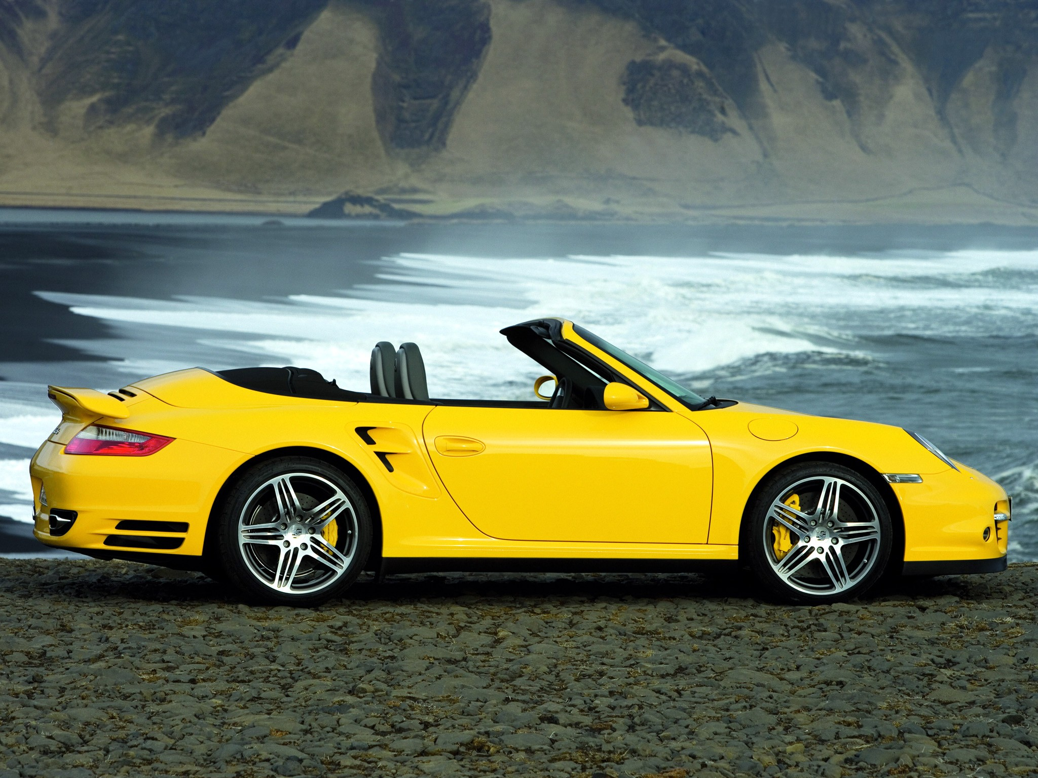 porsche 911 turbo cabriolet 997 specs photos 2007. Black Bedroom Furniture Sets. Home Design Ideas