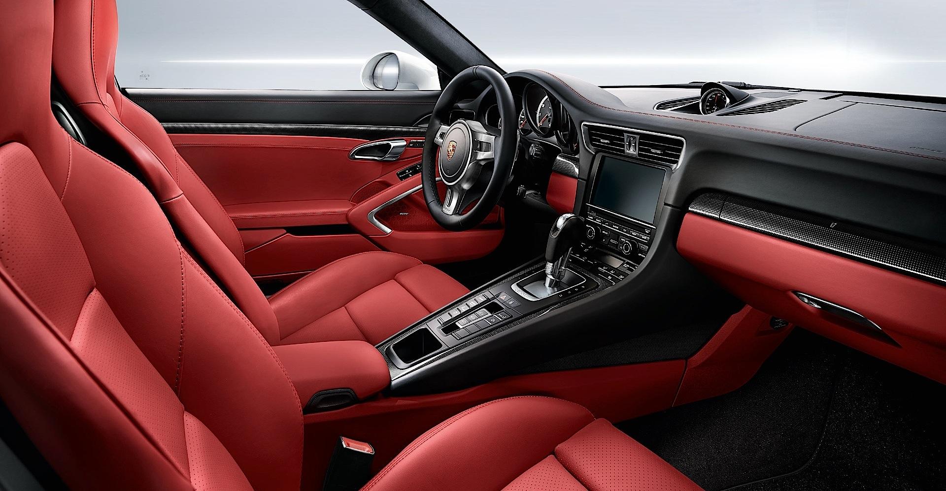 PORSCHE 911 Turbo S  991   2013 - Present Porsche 991 Turbo Interior