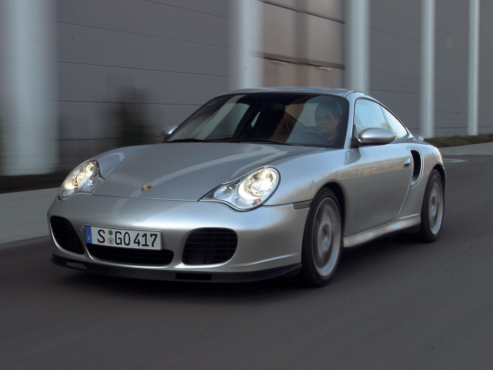 porsche 911 turbo s 996 2004 2005