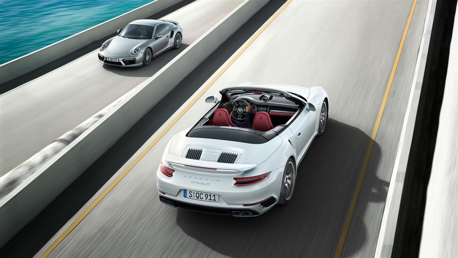 porsche 911 turbo s cabriolet 991 2 2016 autoevolution. Black Bedroom Furniture Sets. Home Design Ideas
