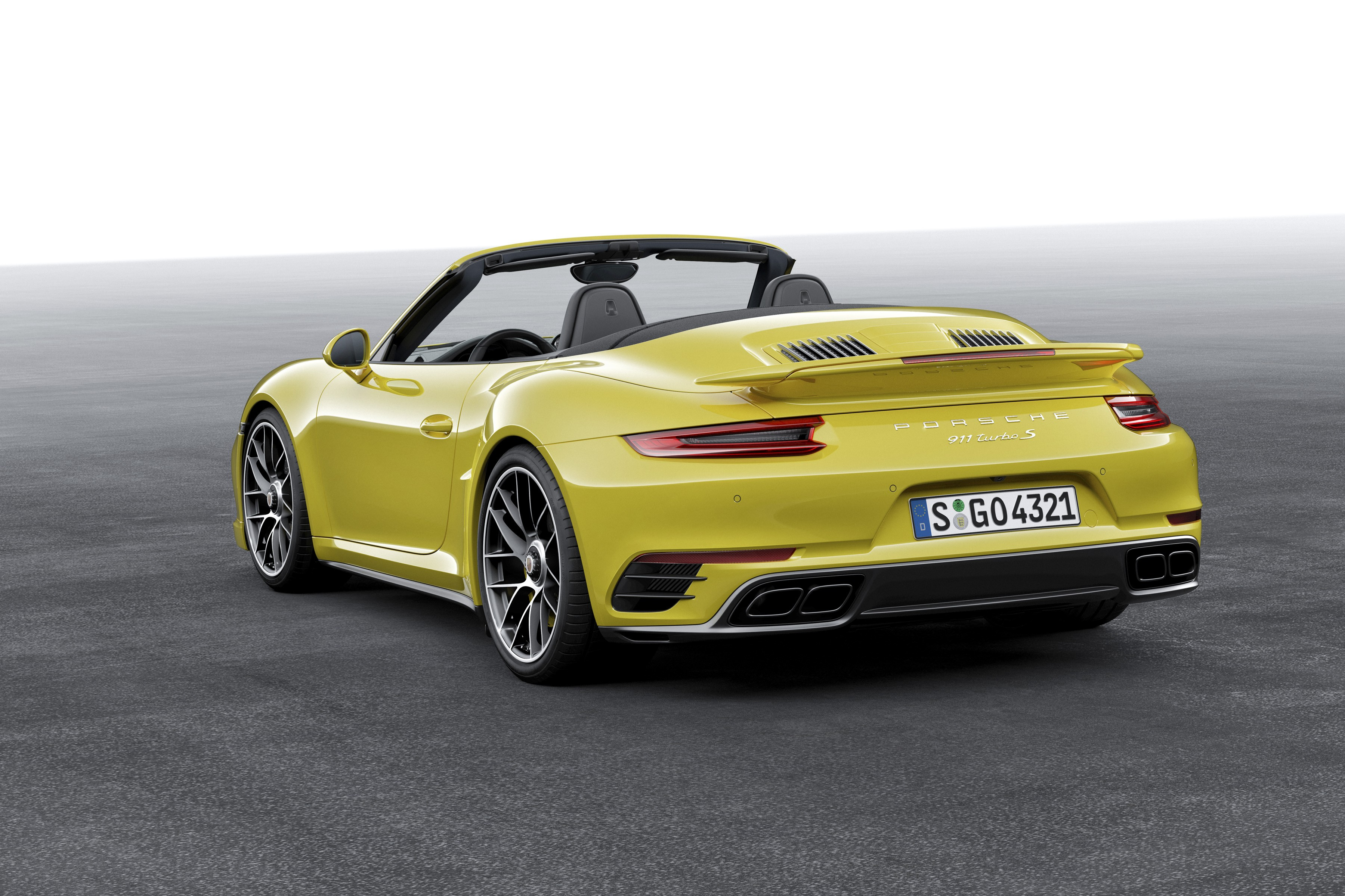 porsche 911 turbo s cabriolet 991 2 2016 autoevolution. Black Bedroom Furniture Sets. Home Design Ideas