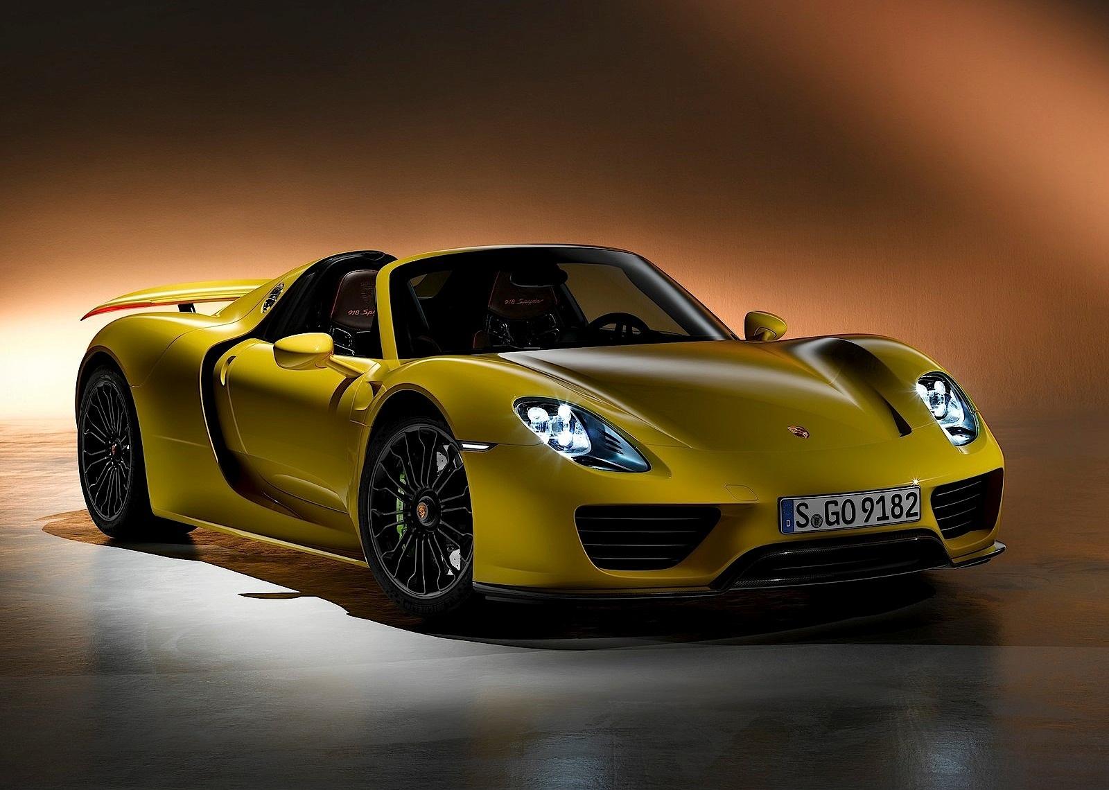 porsche 918 spyder 2014 present - Porsche Spyder 918 2015