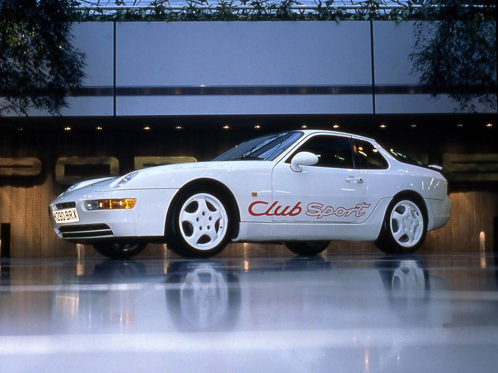 Porsche 968 Club Sport Specs 1992 1993 1994 1995
