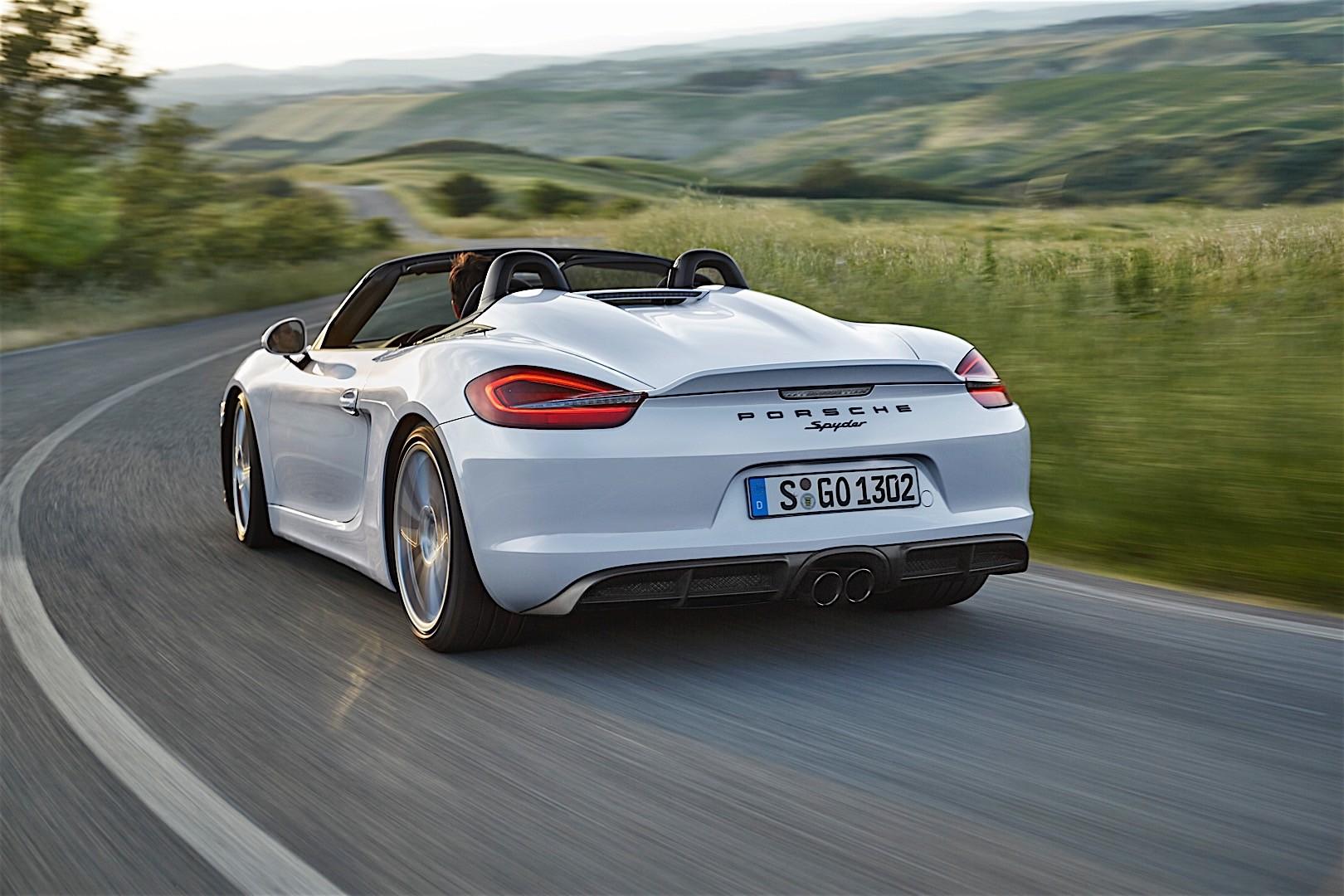 Porsche Boxster Spyder 2016 Autoevolution