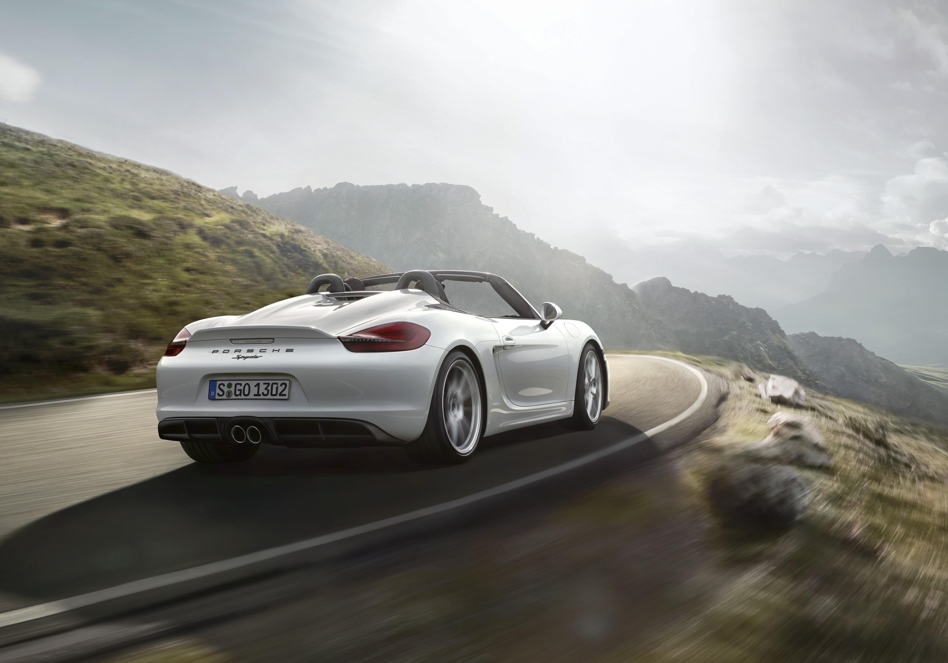 Porsche Boxster Spyder 2016 Present
