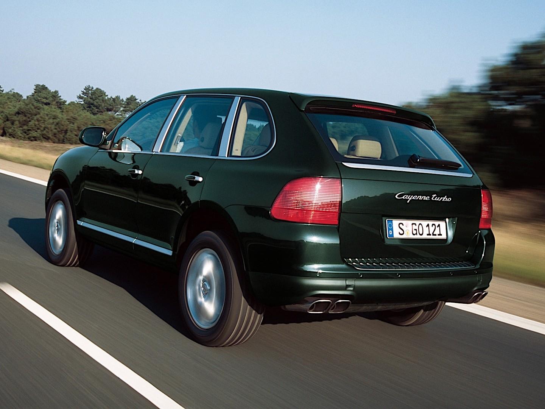 PORSCHE Cayenne Turbo (955) specs - 2002, 2003, 2004, 2005 ...