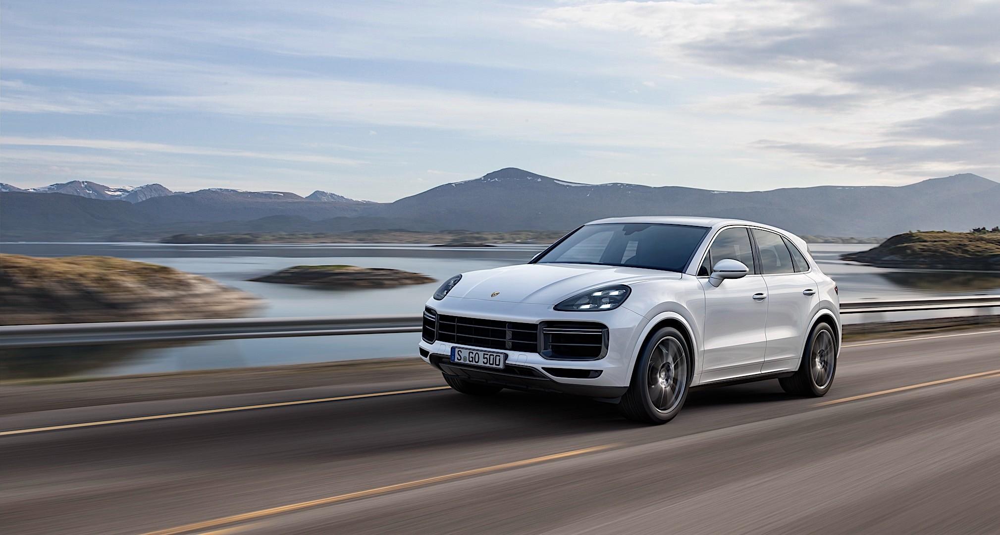 Porsche Cayenne Turbo 2017 Present