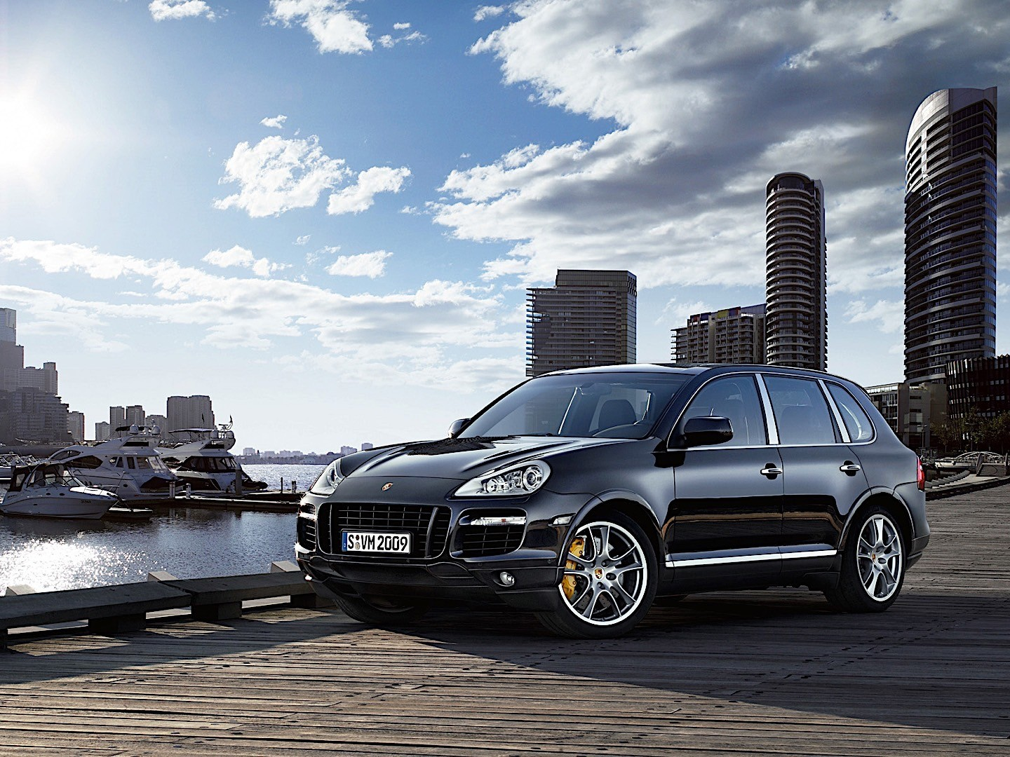 PORSCHE Cayenne Turbo S (957) specs & photos - 2008, 2009 ...