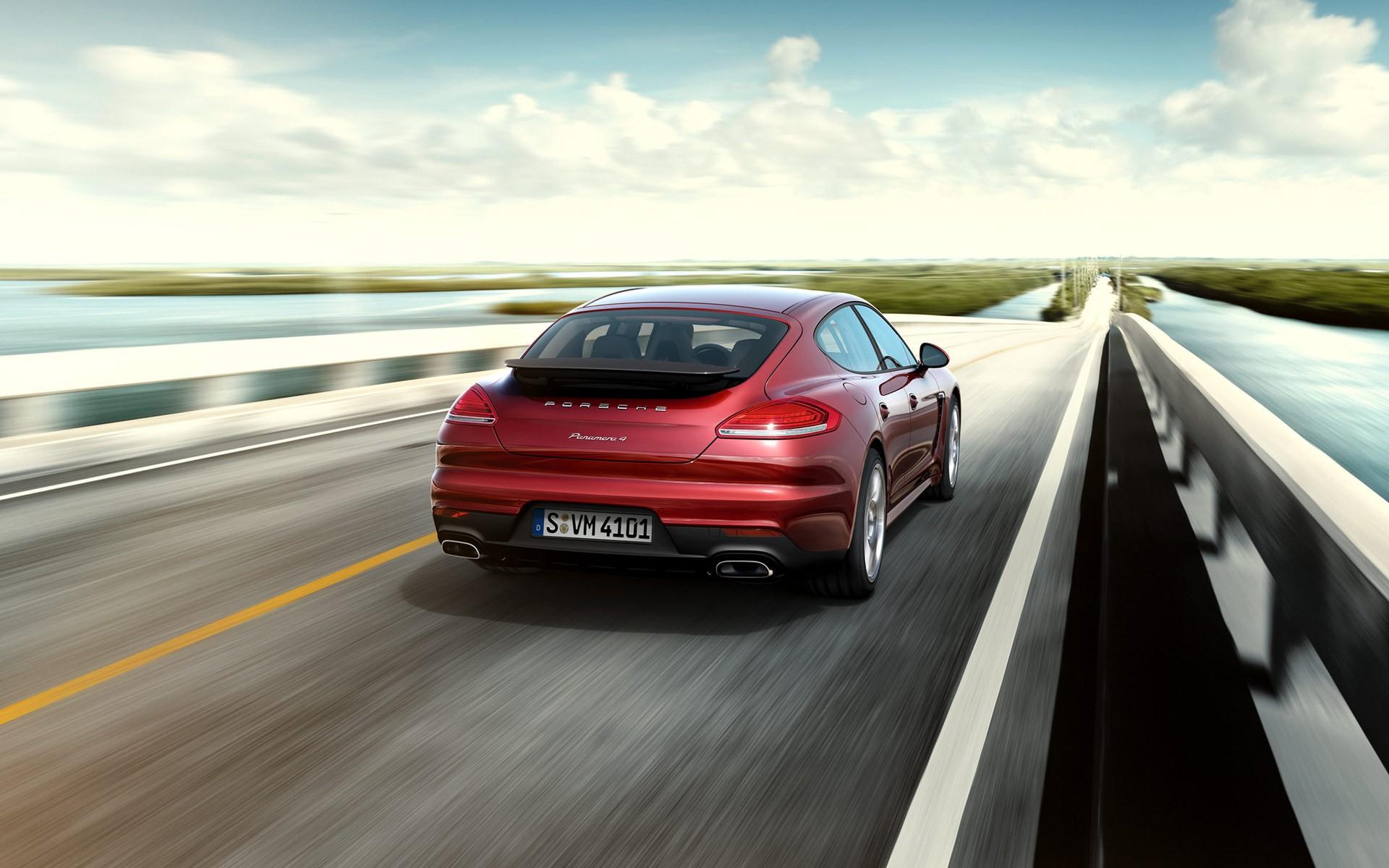 Porsche Panamera 4 970 2017 2016
