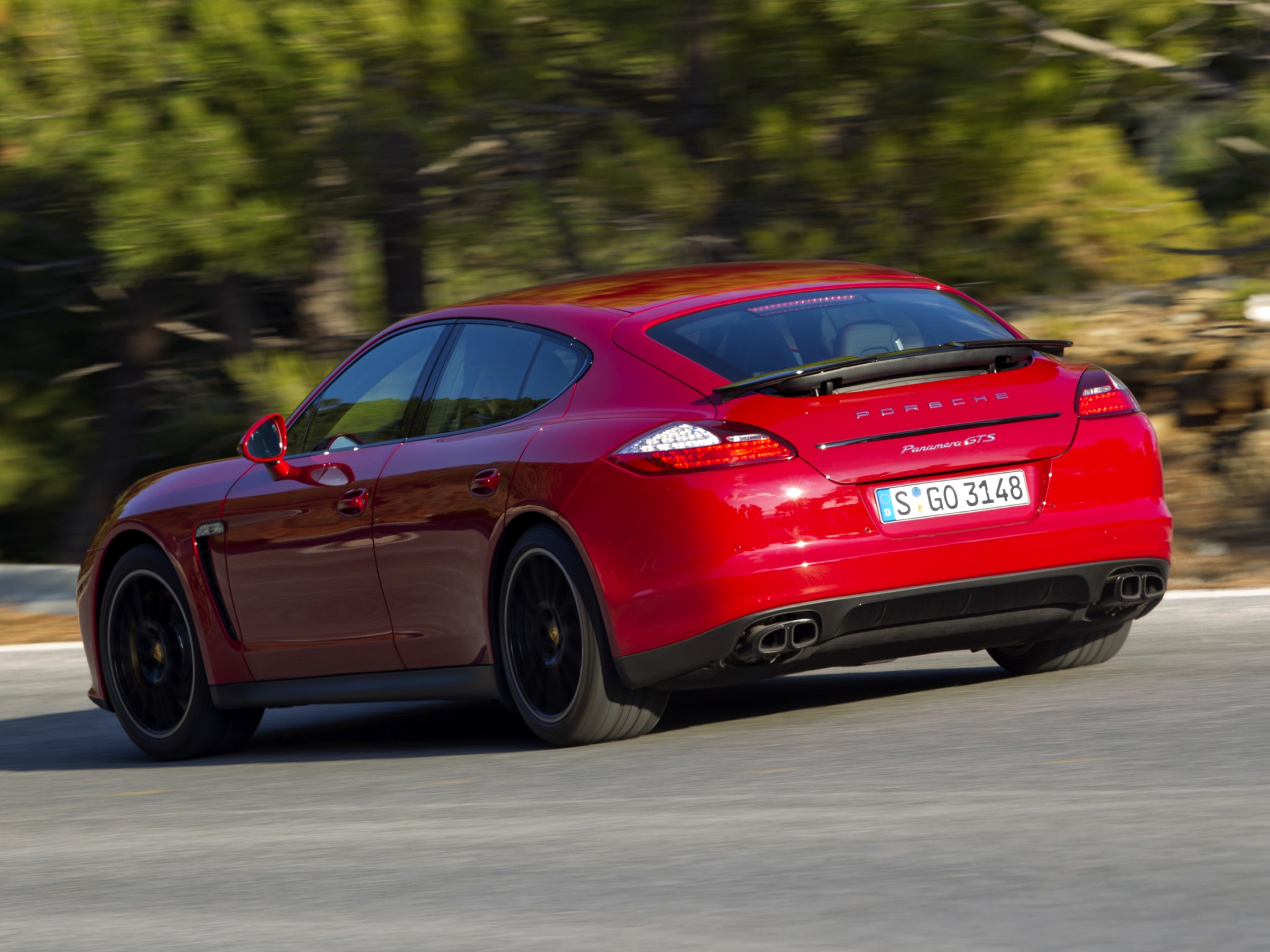 Porsche Panamera Gts 2011 2012 2013 2014 2015 2016