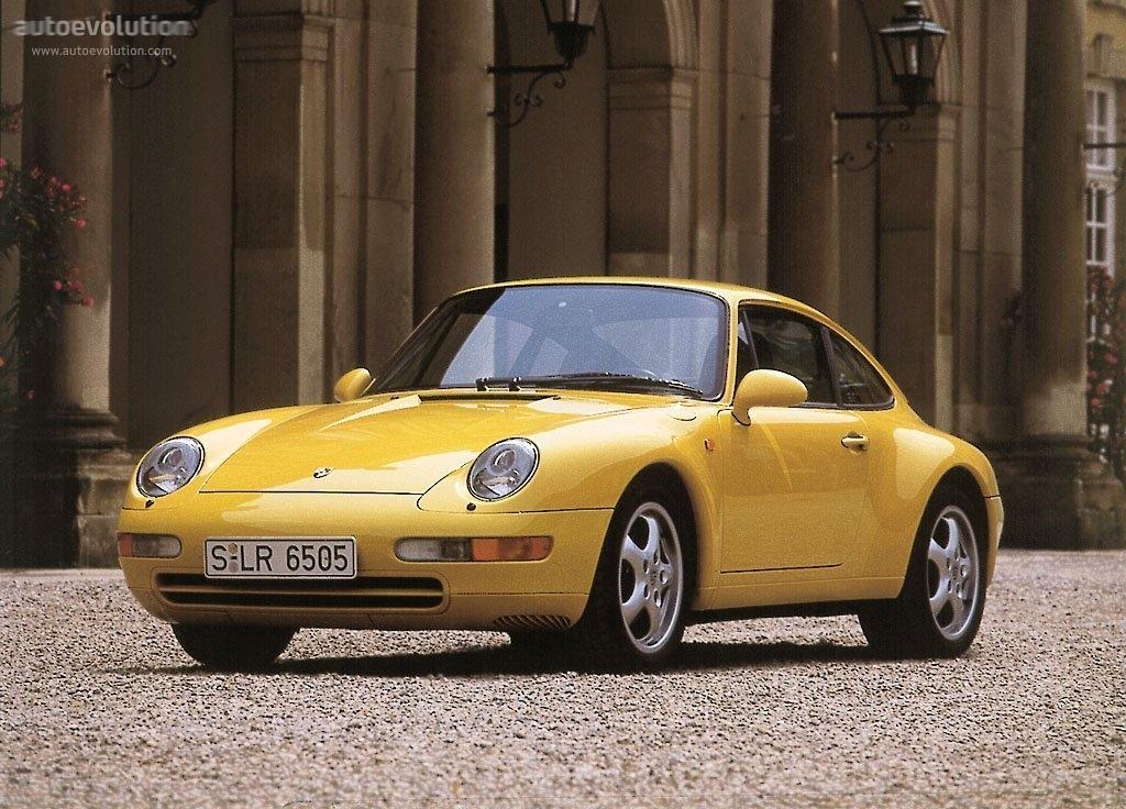PORSCHE 911 Carrera (993) specs & photos - 1993, 1994, 1995, 1996 ...