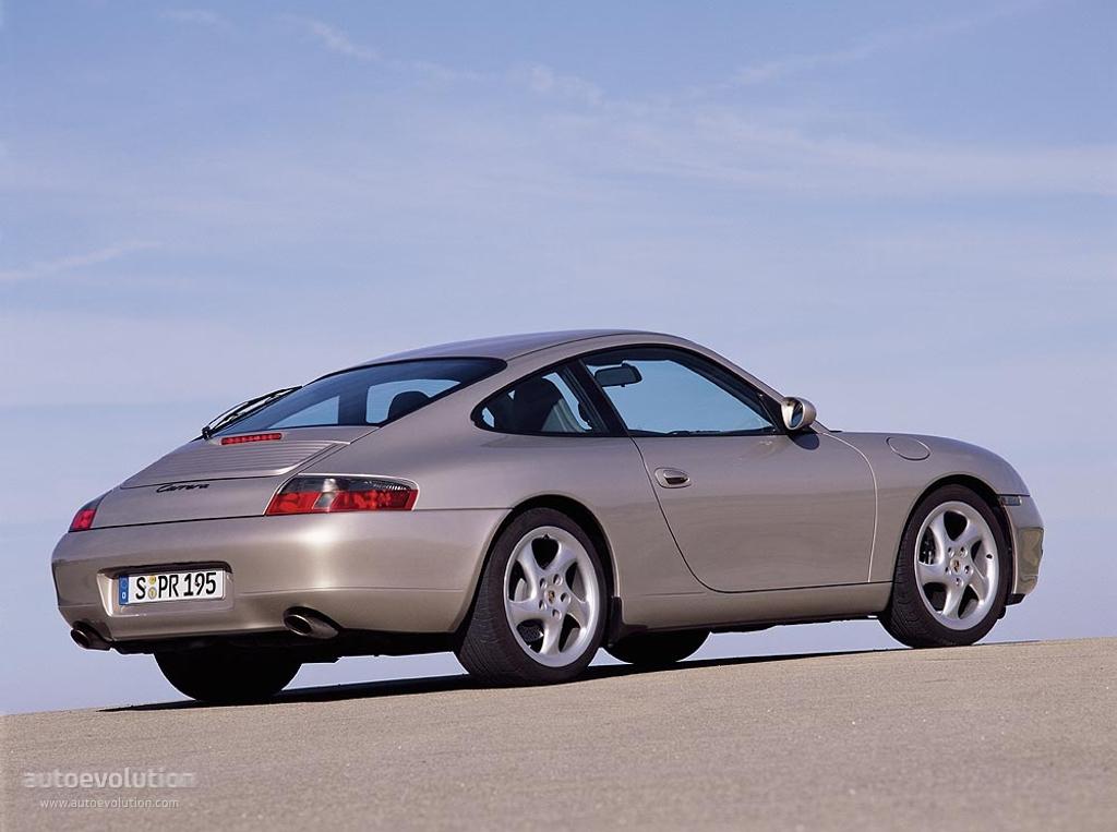Porsche 911 Carrera 996 1997 1998 1999 2000 2001