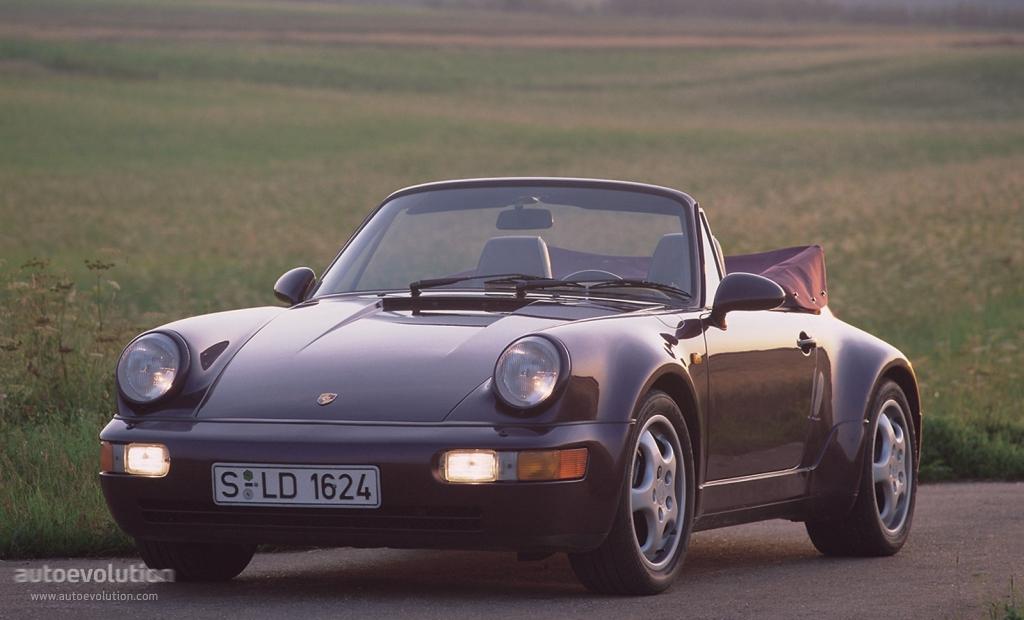 PORSCHE 911 Carrera 2 Cabriolet 964  1989, 1990, 1991, 1992, 1993