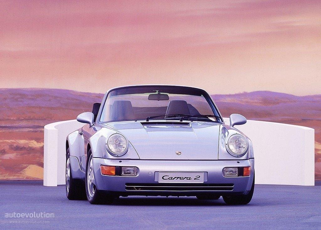 Porsche 911 Carrera 2 Cabriolet 964 Specs Photos 1989 1990
