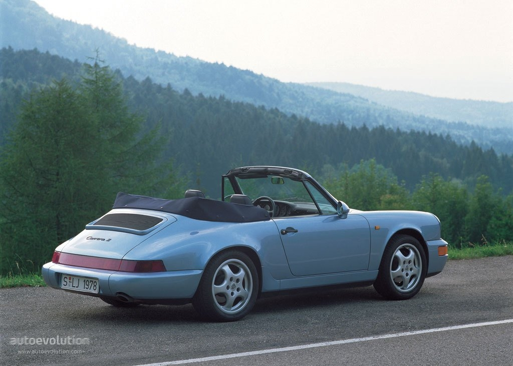 porsche 911 carrera 2 cabriolet 964 specs photos. Black Bedroom Furniture Sets. Home Design Ideas