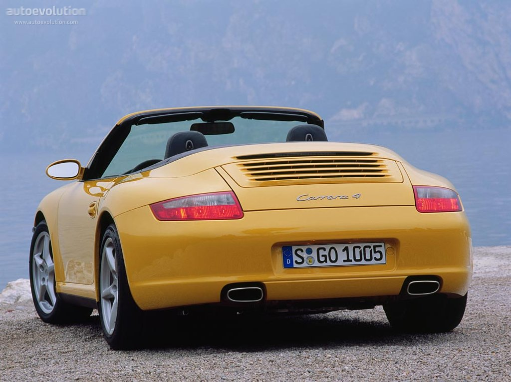 Porsche 911 Carrera 4 Cabriolet 997 Specs Photos 2005 2006