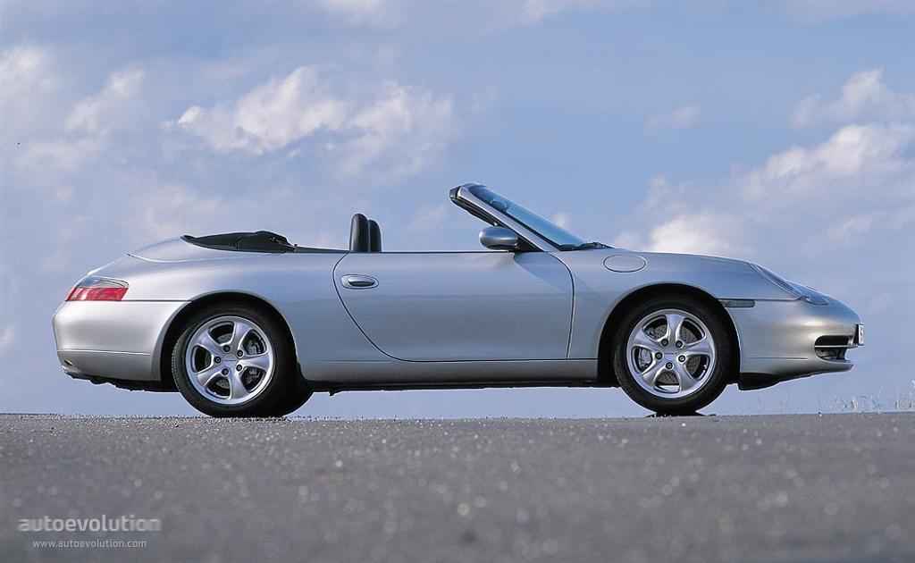 Porsche 911 Carrera 4 Cabriolet 996 1998 2001
