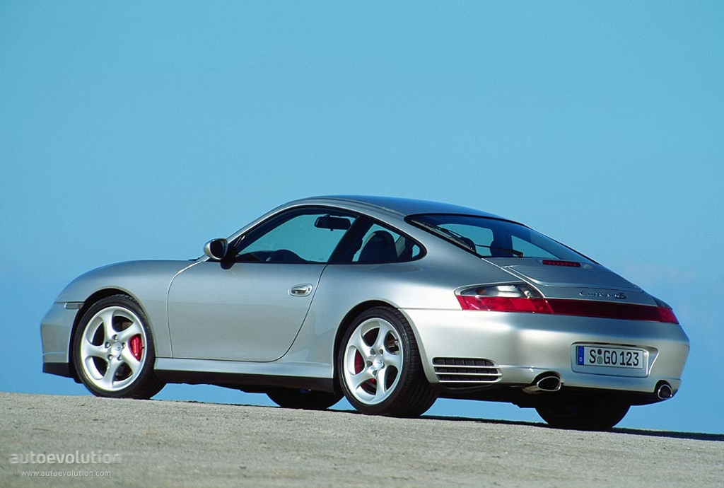 photo porsche 996 carrera 4s 2003