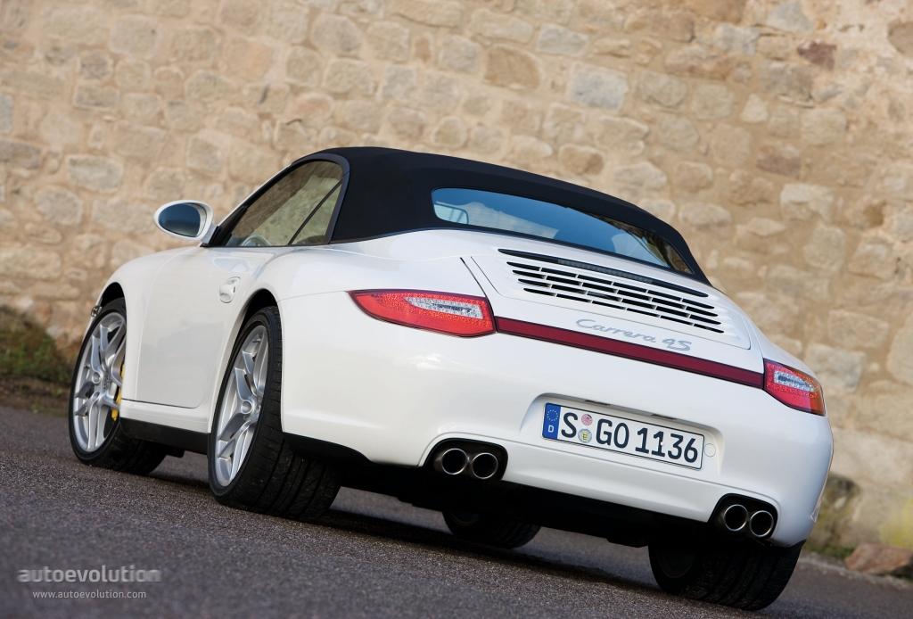Porsche 911 Carrera 4s Cabriolet 997 2008 2009 2010