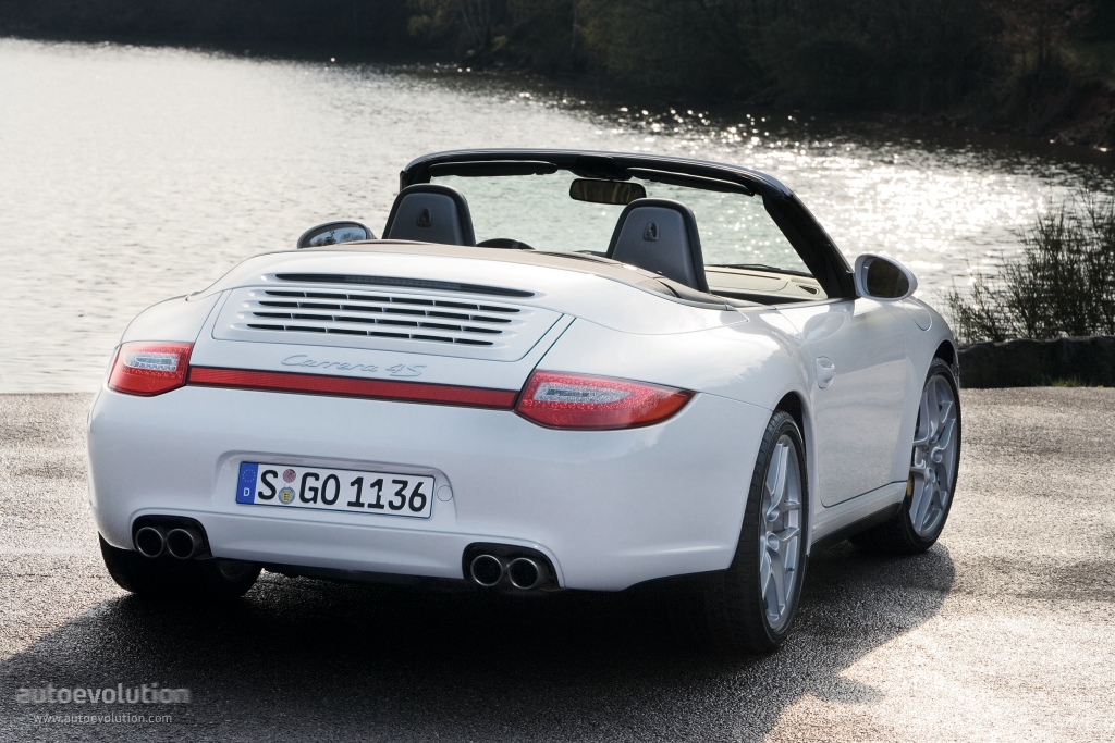porsche 911 carrera 4s cabriolet 997 specs 2008 2009 2010 2011 2012 autoevolution. Black Bedroom Furniture Sets. Home Design Ideas