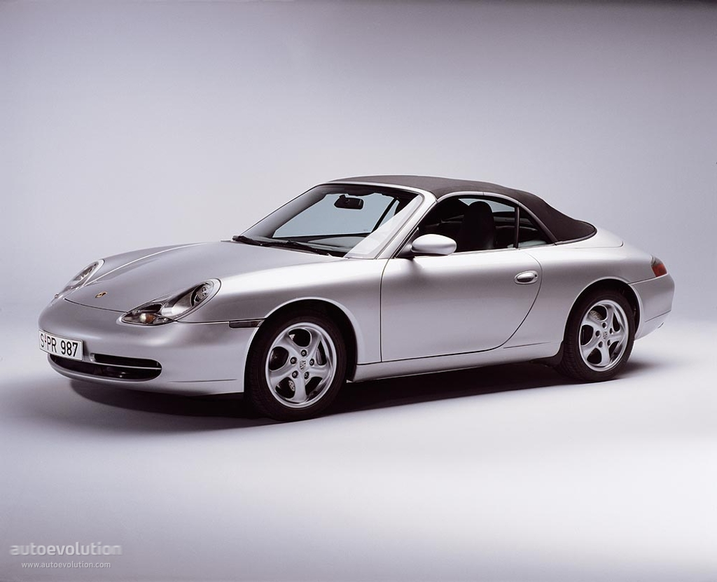 Porsche 911 Carrera Cabriolet 996 1998 1999 2000