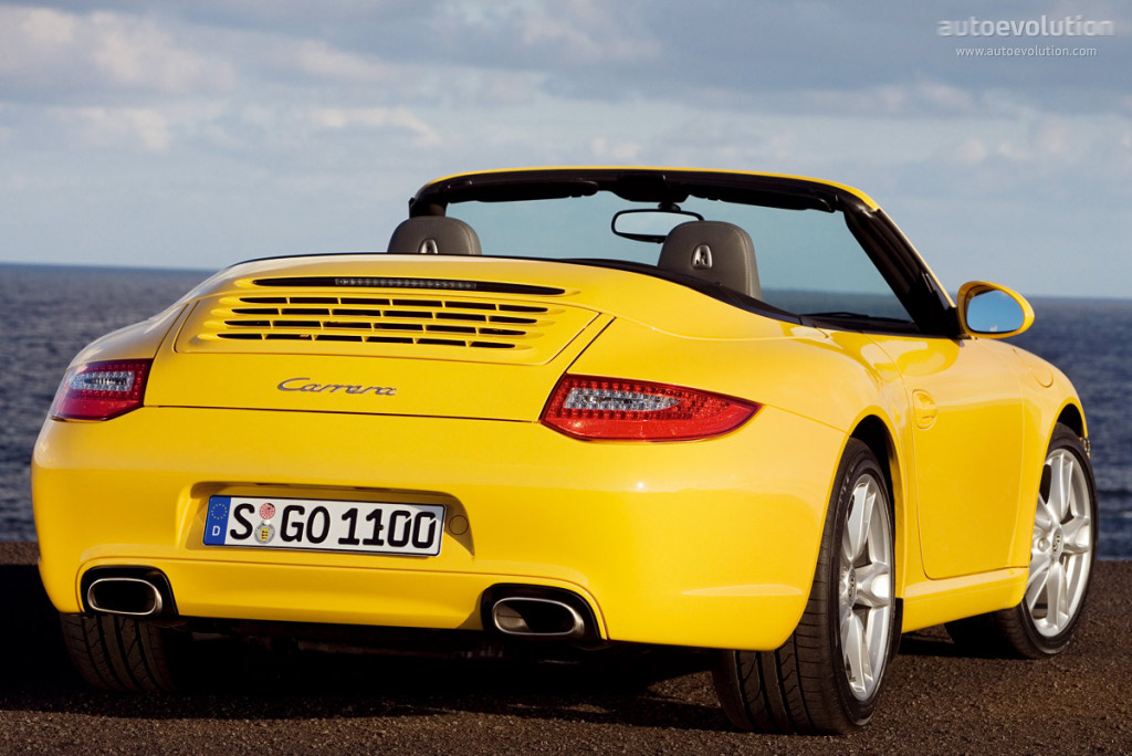 porsche 911 carrera cabriolet 997 specs 2008 2009 2010 2011 2012 autoevolution. Black Bedroom Furniture Sets. Home Design Ideas