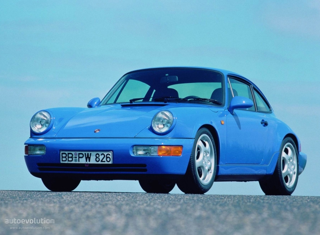 Porsche 911 carrera rs 964 specs 1991 1992 autoevolution