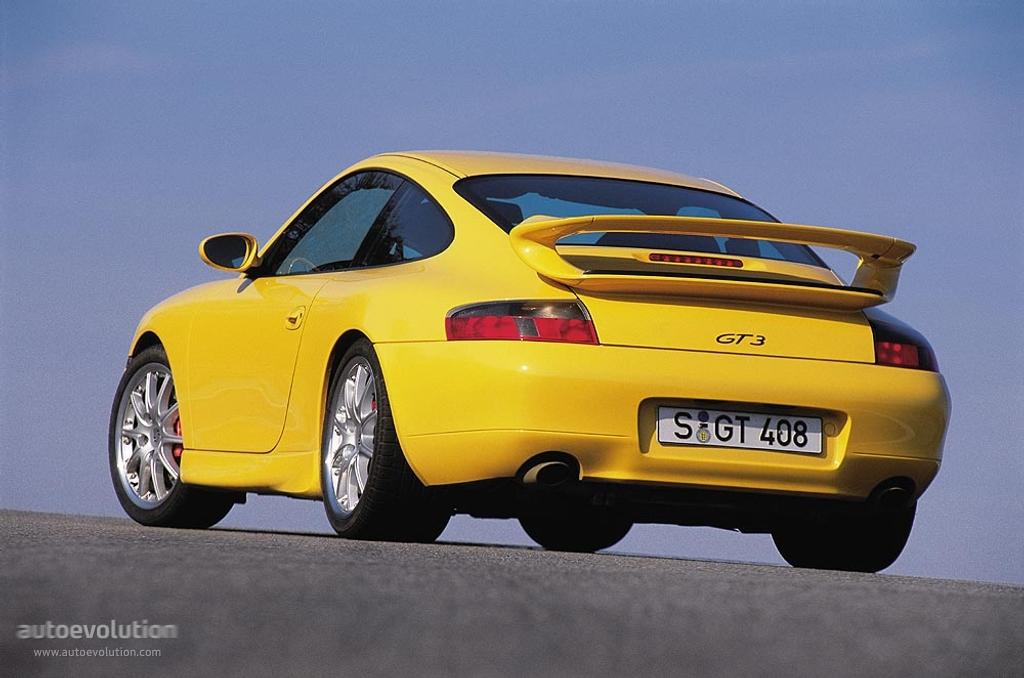 Porsche 911 gt3 996 1999 2000 2001 autoevolution
