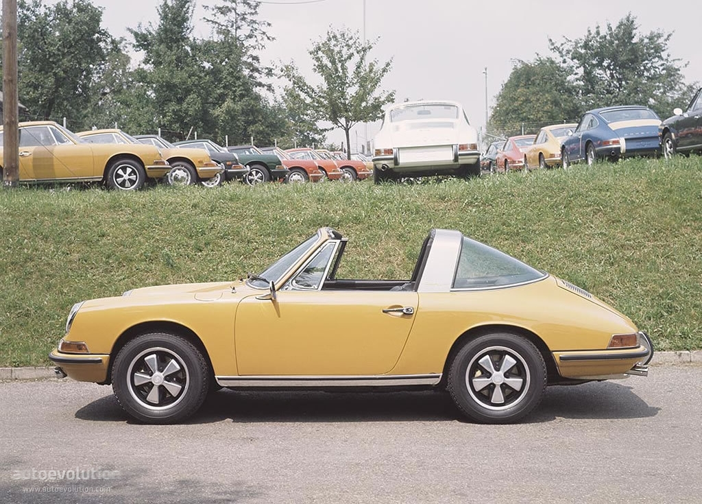 Porsche 911 Targa 901 Specs 1967 1968 1969 1970