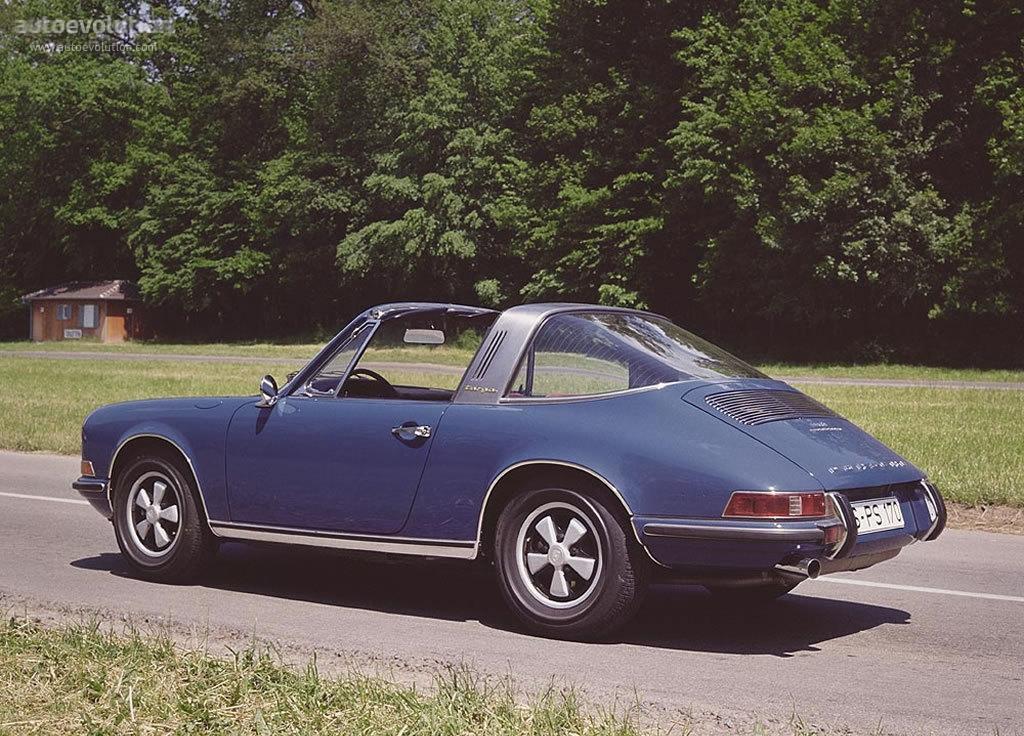 Porsche 911 Targa 901 1967 1968 1969 1970 1971