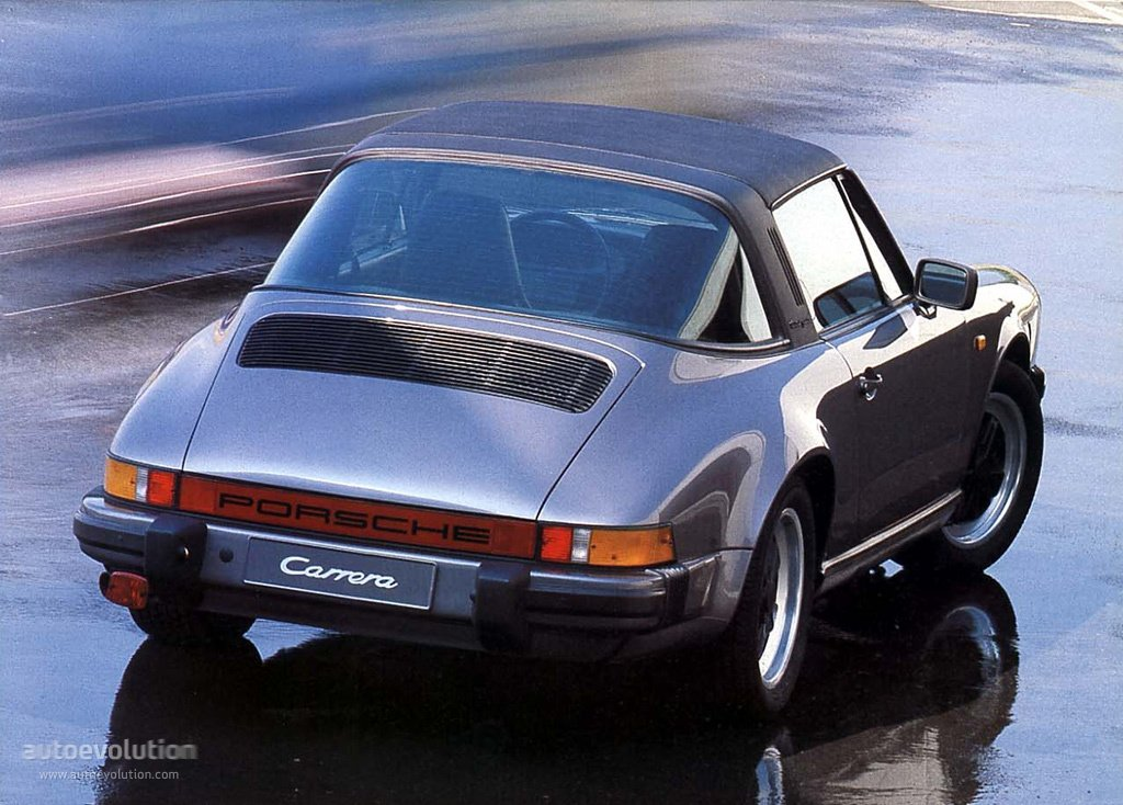PORSCHE 911 Targa (930) - 1974, 1975, 1976, 1977, 1978 ...