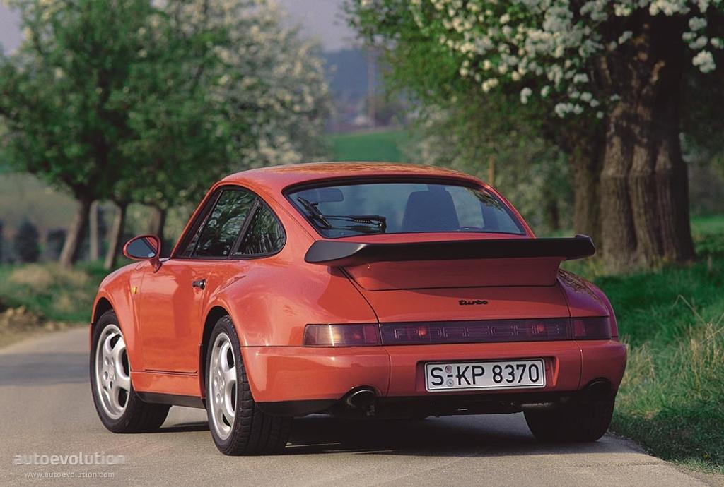 porsche 911 turbo 964 specs photos 1990 1991 1992 1993 1994 1995 autoevolution. Black Bedroom Furniture Sets. Home Design Ideas