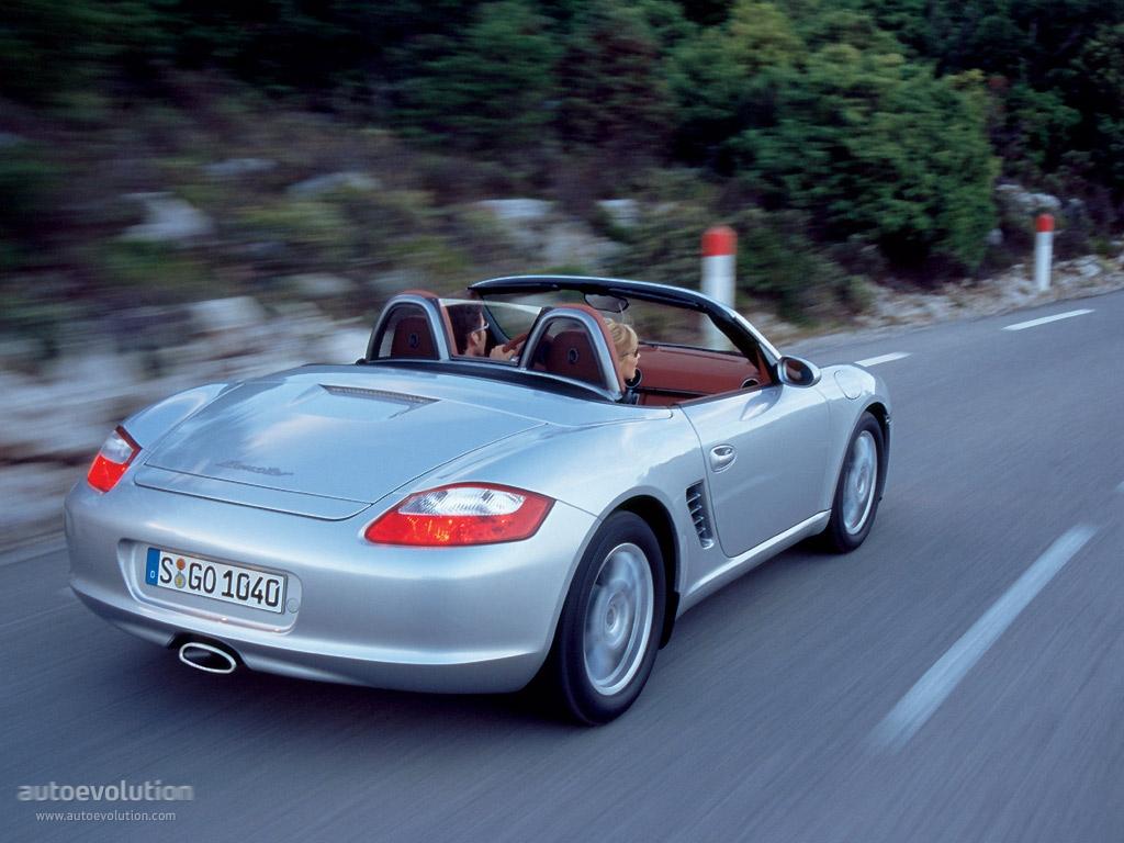 Porsche boxster specs 2006