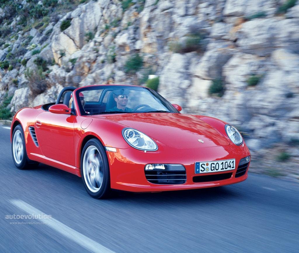 Porsche Boxster S 987 2004 2008